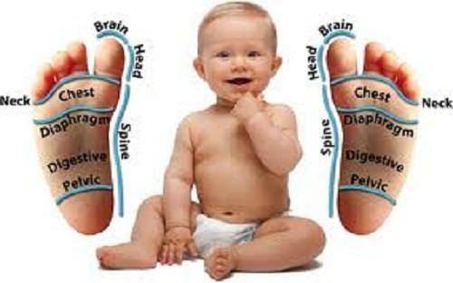 Reflexoterapia para niños