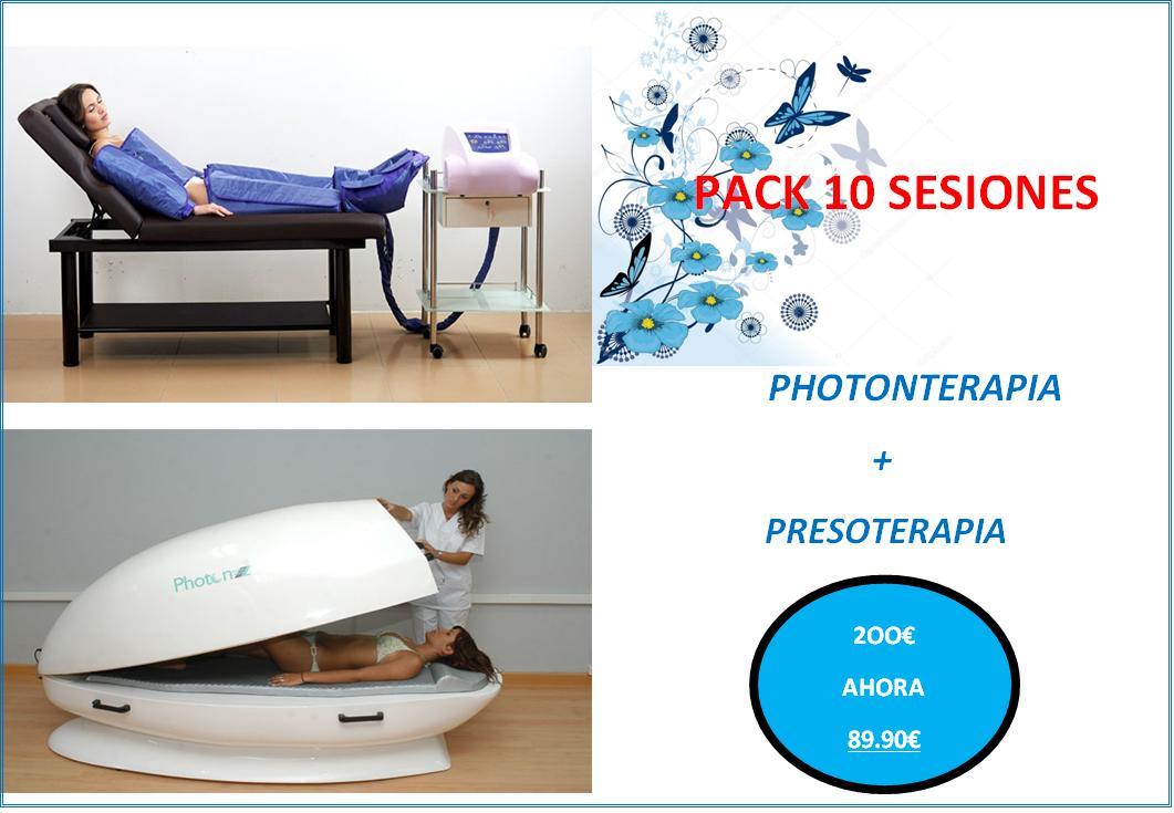 Pack promocional para el tratamiento de la celulitis