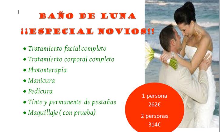 Pack de tratamientos completo para el cuidado y belleza de tu piel, para estar perfect@ el día de tu boda