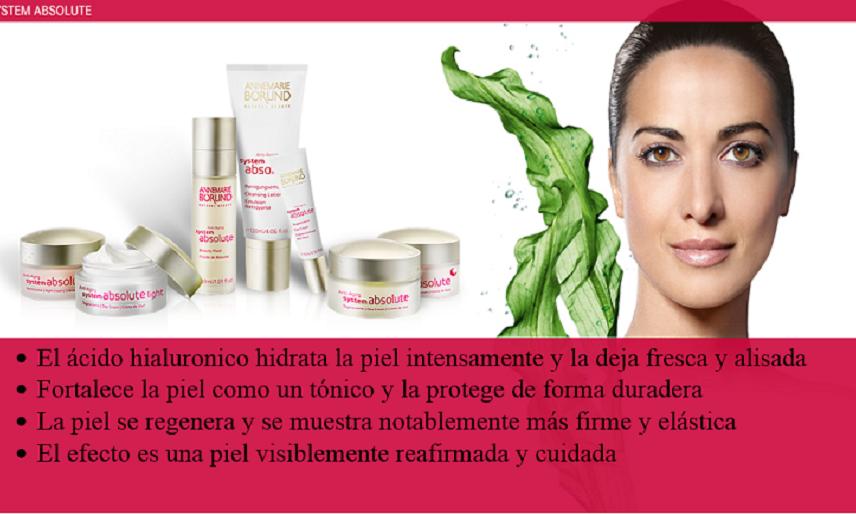 A base de ácido hialurónico, son productos especialmente pensados para la hidratación intensa de la piel y su regeneración