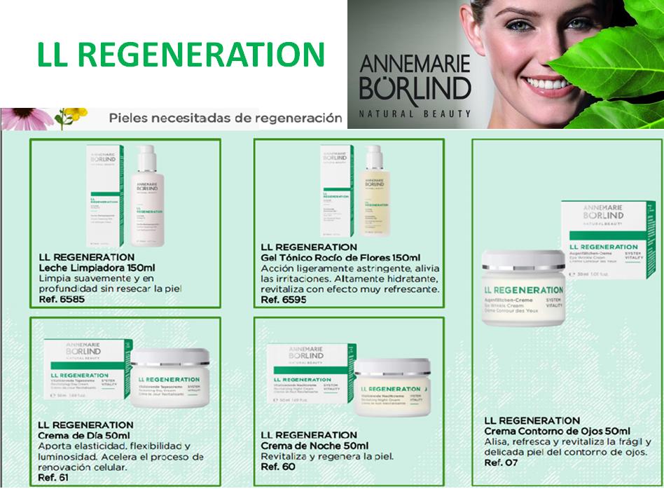 Cuidado y regeneración de la piel