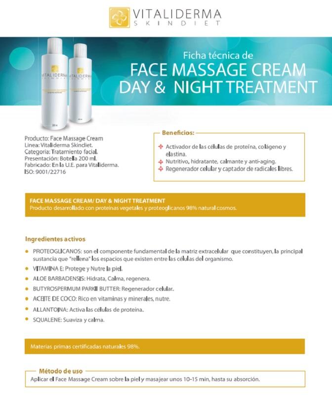 Crema facial día y noche. Para todo tipo de pieles