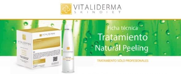 peeling natural con ingredientes activos para el cuidado de la piel