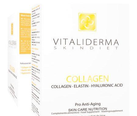 Suplemento con ácido hyalurónico y colágeno