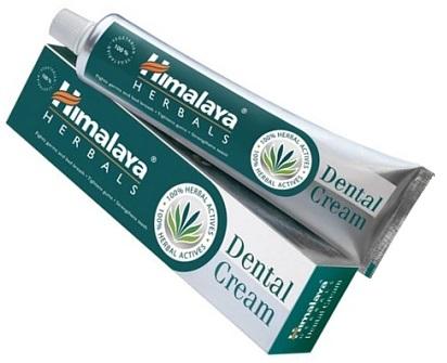 crema dental ayurvédica con estractos naturales