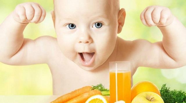 Complemento nutricional infantil