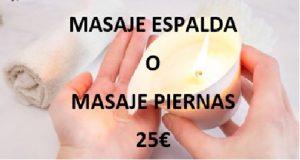 Oferta en masajes