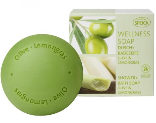 Jabón de aceites esenciales a base de lemongrass. Sin fragancias, conservantes ni colorantes sintéticos.