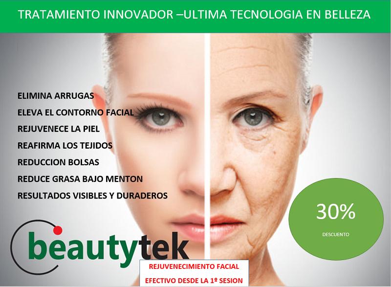 Oferta en tratamiento con Beautyteck. Beautyteck es un tratamiento innovador de belleza.